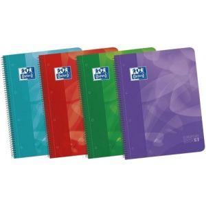 Paq/5 bloc a4 120h 90g 1horizontal europeanbook4 con separadores tapap polipropileno