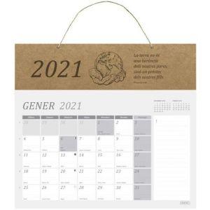 CALENDARIO DE PARED 2021 34X29,5 CM. PARA ESCRIBIR