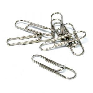 Pack 10 cajas con 100 clips galvanizados 32mm nº 2 grafoplas