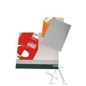 Caja 100 tapas de encuadernación a4 pvc 180 micras transparente
