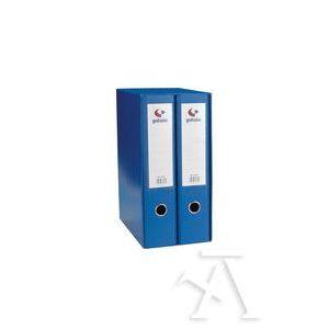 Modulo 2 archivadores fº 2 anillas palanca 65mm carton forrado en pp grafcolor azul