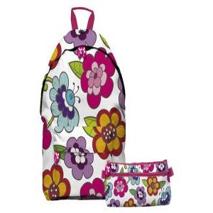 Mochila backpack 34x44x14cm noa12 cafe grafoplas
