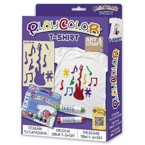 Kit manualidades playcolor pack t-shirt