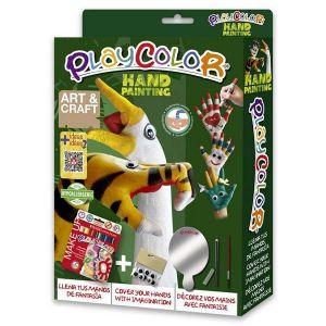 Kit manualidades playcolor pack hand painting