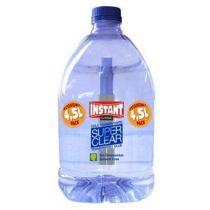Cola transparente liquida en garrafa 4,5 l