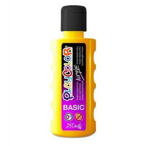 Pintura playcolor acrylic basic 250 ml amarillo