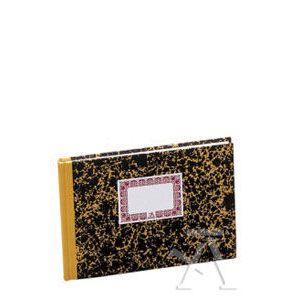 Cuaderno cartone 4º apaisado cuentas corrientes 100h numeradas