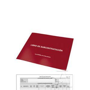 LIBRO SUBCONTRATACION A4 APAISADO 10H AUTOCOP. CASTELLANO