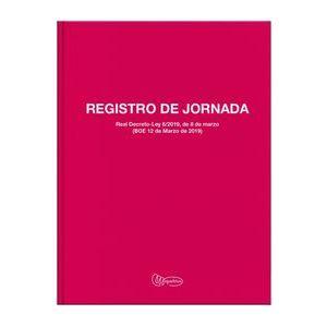 (CAT)LIBRO REGISTRO JORNADA LABORAL Fº 40 HOJAS CATALAN