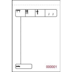 PAQ/10 TALONARIOS DE CAMARERO 7.3X10.9CM MINI DUPLICADO