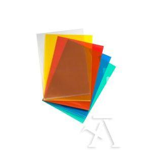 Paq/10 fundas dossier uñero a4 polipropileno 100 micras colores surtidos
