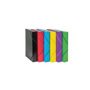 Pack 5 carpetas de proyectos fº lomo 50mm polipropileno colores surtidos