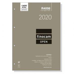 Recambio anual agenda 4000 2020 dia pagina r4098