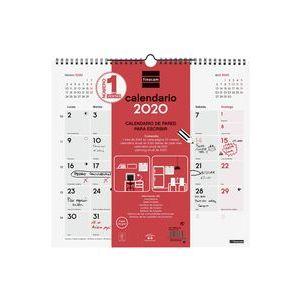 CALENDARIO 2020 PARED PARA ESCRIBIR M 26,5X24,5CM