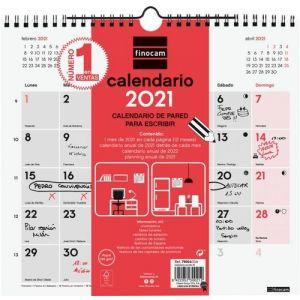 CALENDARIO 2021 PARED PARA ESCRIBIR M 26,5X24,5CM