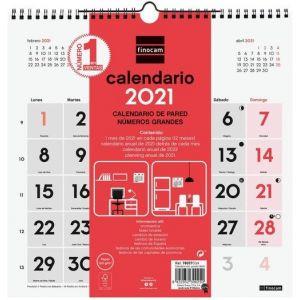 CALENDARIO PARED N GRANDES 30X30 2021
