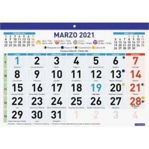 FALDILLA F93 2021 CASTELLANO 300X210MM NUMEROS GRANDES