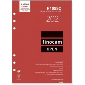 RECAMBIO AGENDA 2021 CATALAN R1099C SEMANA VISTA 15,5X21,5
