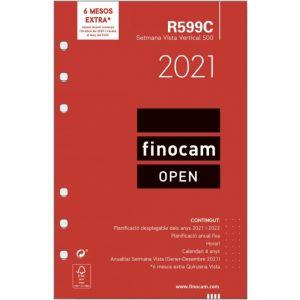 RECAMBIO AGENDA 2021 R599 CATALAN SEMANA VISTA