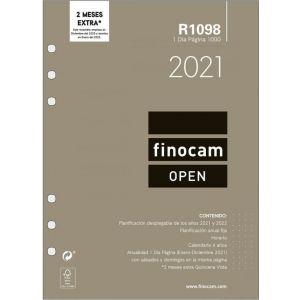 RECAMBIO AGENDA 2021 R1098 DIA PAGINA 15,5X21,5CM