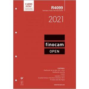 RECAMBIO AGENDA 2021 R4099 SEMANA VISTA 21X29,7CM