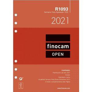 RECAMBIO AGENDA 2021 R1093 SEMANA VISTA APDO. 15,5X21,5CM