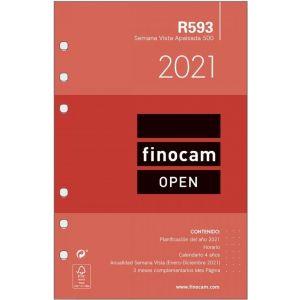 RECAMBIO AGENDA 2021 R593 SEMANA VISTA APDO. 11,7X18,1CM