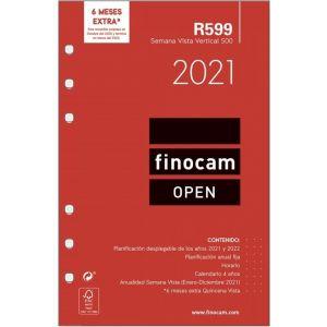 RECAMBIO AGENDA 2021 R599 SEMANA VISTA 11,7X18,1CM