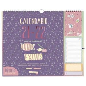 CALENDARIO DE PARED 16 MESES TALKUAL PLUS 21/22