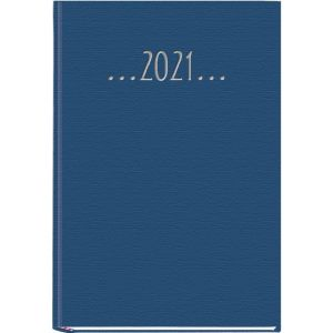 Agenda anual 2020 praxis azul 14,5x21cm dia pagina tapa dura