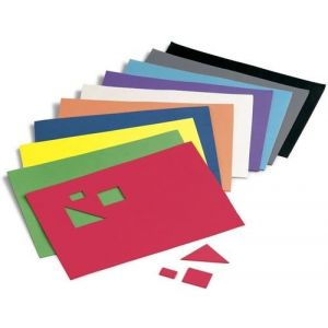 Paq/10 laminas goma eva colores surtido 20x30cm baja densidad