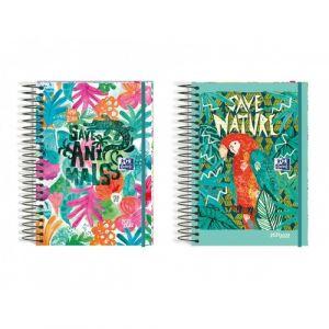 (abono) agenda escolar 21/22 diseños 8 d/p tropical