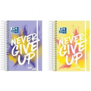 (abono) agenda escolar 21/22 diseños 8 d/p never give up