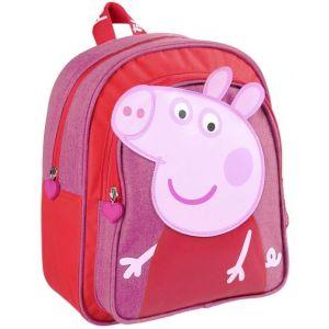MOCHILA INFANTIL PEPPA PIG 25,5X30X10CM