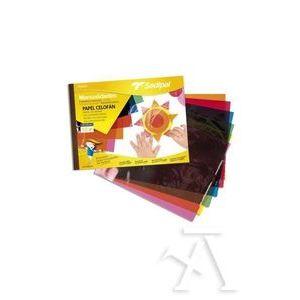 Bloc manualidades 10 hojas papel celofán Sadipal 32x24cm