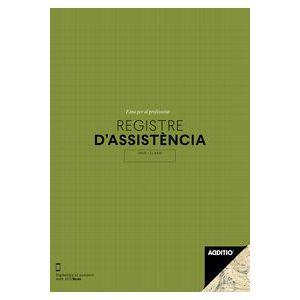 (CAT).REGISTRE D'ASSISTENCIA