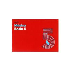 Cuaderno 4º musica basic 5 pentagramas de 16mm por página 20 hojas