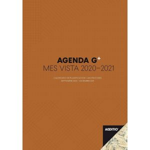 AGENDA G PLUS + ANOTACIONES MES VISTA 2020-2021