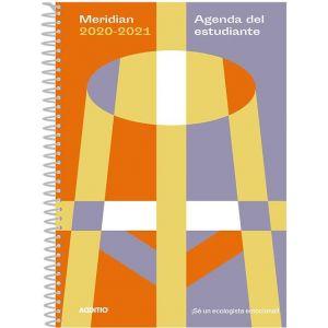 AGENDA ESCOLAR ESPIRAL MERIDIAN A5 S/N 2020/21 SECUNDARIA