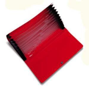 Clasificador acordeon 12/b negro