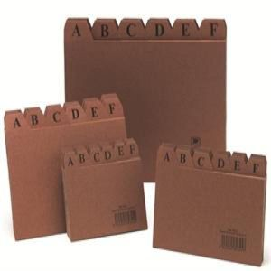 Indice fichero carton nº4 125x200