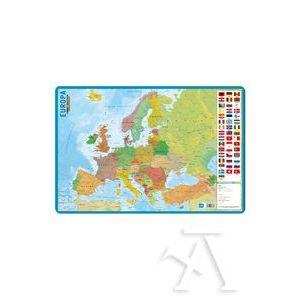 LAMINA DIDACTICA MAPA EUROPA PVC 40X59,5CM