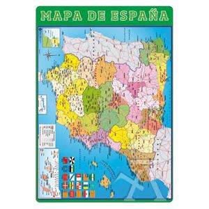 VADE ESCOLAR MAPA ESPAÑA 35X49CM