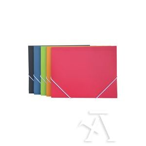 Paq/10 carpetas gomas maxi+ vital colors polipropileno colores surtidos
