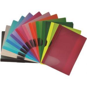 Exp/48 dossier clip-it supra a4 capacidad 30hojas colores surtidos