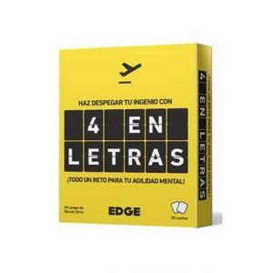 4 EN LETRAS JUEGO DE CARTAS