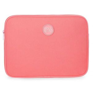 Funda para tablet roll road roja
