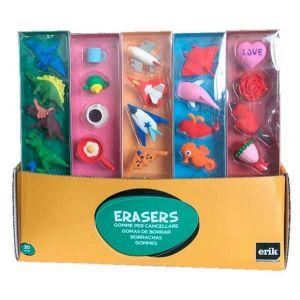 Caja ready to sell 30 sets 5 gomas de borrar 3