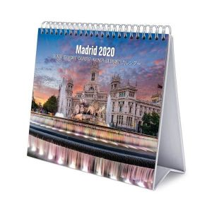 Calendario de escritorio deluxe 2020 madrid