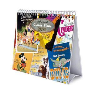 Calendario de escritorio deluxe 2020 disney classic films